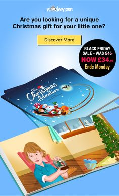 Are you looking for a unique Christmas gift for your little one? My Christmas Adventure is a 32-page bespoke children's book, using illustrations created from your child's photograph. This fantastic book contains 15 bespoke illustrations of your child and their name throughout the book. You can also include a personal message on the intro page. free books for kids, free children's books, kid books online, children storybook, customized books, free books for kids, free children's books pdf Free Kids Books, Online Books For Kids, Kid Books, Kids Story Books, Children's Books, Books Online, Christmas Gift For You, Unique Christmas Gifts, Personalized Christmas Gifts