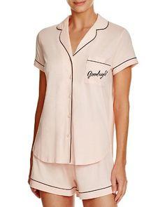 kate spade new york Goodnight Short Pajama Set | Bloomingdale's