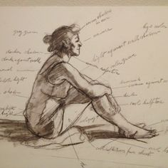 Edward Hopper's sketch for Morning Sun