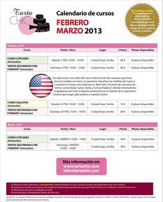 Cursos febrero/marzo 2013 February