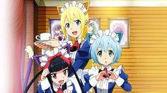 Anime - Gate: Jieitai Kanochi Nite, Kaku Tatakaeri  Tuka Luna Marceau Rory Mercury Lelei La Lalena Wallpaper