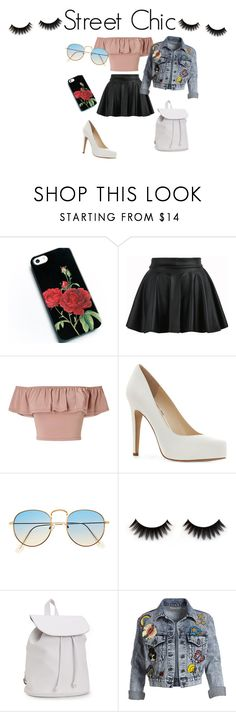 """Street Chic"" by skataewwvas on Polyvore featuring Miss Selfridge, Jessica Simpson, Aéropostale and Alice + Olivia"