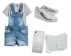 """""""Untitled #1"""" by carolina-manzano-valdes ❤ liked on Polyvore featuring adidas Originals and Ted Baker"""