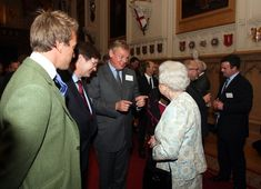 Martin Clunes and the Queen Very Royal