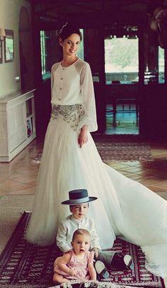 Vestido de noiva de Roberto Diz / wedding dress by Roberto Diz