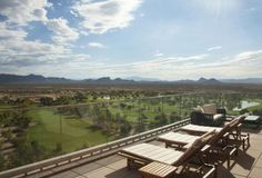 The view from The Spa at Talking Stick Resort, Scottsdale, AZ