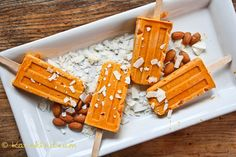 Carrot Cake and Almond Butter Popsicles | 33 Super-Cool Popsicles To Make This Summer
