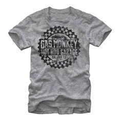 Officially Licensed Badass Gas Monkey Garage Long Sleeve Tee S-XXL Sizes