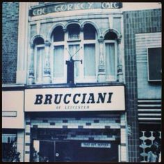 Where my dear nan used to take me for a birthday Knickerbocker glory! Leicester England, Republic Of Ireland, Where The Heart Is, Back In The Day, Historical Photos, Great Britain, Old Photos, Past, The Outsiders
