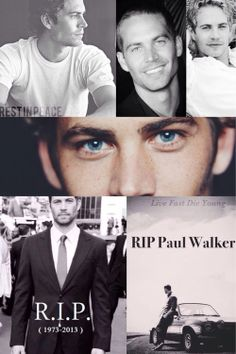Paul Walker--fast and furious --Live in the hearts