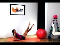 Barre Ballet Workout - Ballet Thigh Blast BARLATES BODY BLITZ - YouTube