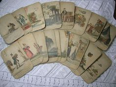 Antique French Tarot Cards