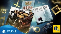 Say hello to your PlayStation Plus monthly games for September Enjoy incredible superpowers as Delsin Rowe in Infamous: Second Son or save a magic king. Playstation Plus, Xbox, Toys R Us Closing, Delsin Rowe, Ps Plus, Child Of Light, What Day Is It, Game Info, Online Gratis