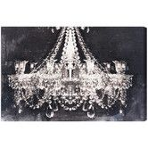 homeinnovationsok.com likes......Found it at Wayfair - Dramatic Entrance Night Graphic Art on Wrapped Canvas