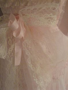 Pink Lace --Ribbons and Tule Lace Ruffle, Pink Lace, Pastel Pink, Pink White, Ruffles, Lace Ribbon, Dusty Pink, Pink Roses, Lace Dress