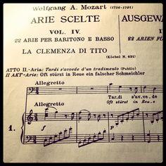 Beautiful aria. #Mozart #LaClemenzaDiTito #Aria
