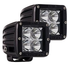 Rigid Industries D-Series - Dually - Flood - Pair - Black - https://www.boatpartsforless.com/shop/rigid-industries-d-series-dually-flood-pair-black/