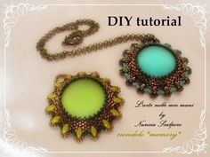 "▶ DIY tutorial: ciondolo ""Memory"" - YouTube"