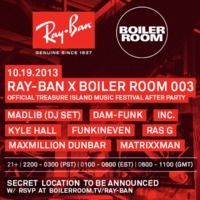 Kyle Hall b2b Funkineven DJ Set @ Boiler Room SF