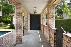 Herringbone brick + Bluestone- Dillon Kyle Architecture