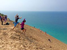 A couple takes a leap of faith at Michigan's iconic