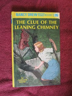 The Clue of the Leaning Chimney by Carolyn Keene - Nancy Drew # 26 - 1995 ~~ For Sale At Wenzel Thrifty Nickel eCRATER store