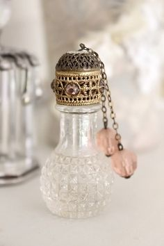 Always in search of lovely vintage perfume bottles