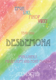 Desdemona typo