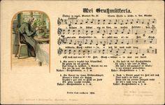 Lied Ak Günther, Anton, Mei Grußmütterla, Erzgebirge #Erzgebirge