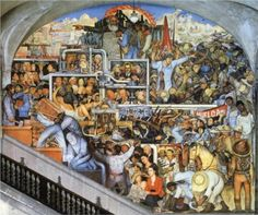 The World of Today and Tomorrow - Diego Rivera