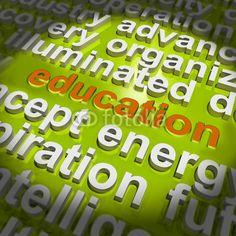 Edukacja Word Cloud Forma nauczania kształcenie lub szkolenie