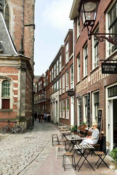 Quartier Putain restaurant in Amsterdam's Red Light District