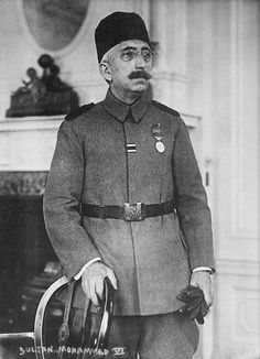 Sultan Mehmed Vahideddin VI; the 36th and last Sultan of the Ottoman Empire, also the 115th Caliph of Islam.