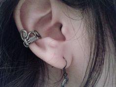 Elegant Curl Ear Cuff by Jynxsbox on Etsy, $15.00