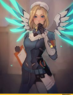 Mercy (Overwatch),Overwatch,Blizzard,Blizzard Entertainment,фэндомы,Matilda Fiship