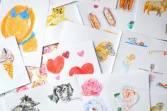 Leenykova Illustration Get in touch Touch, Illustration, Illustrations