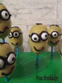 Frau Brotbäcker: Minion Cakepops