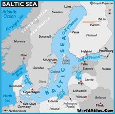Map of Baltic Sea -World Atlas Northern European Capitals Cruise Disney Cruise Line 2010 Cruise Europe, Packing For A Cruise, Cruise Vacation, Baltic Sea Cruise, How To Book A Cruise, Senior Trip, Disney Cruise Line, Sea World, Travel Couple