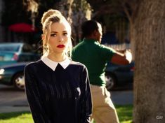 """This beautiful shirt and sweater look. 