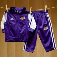 Lakers Infant Track Jacket Pant Set 82142dcbd9