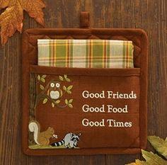 Good Friends Pocket Potholder Set