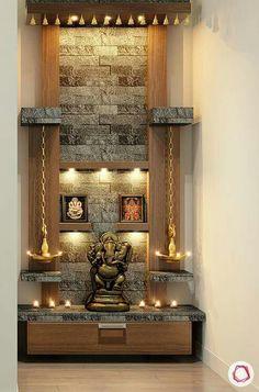 How to Ace-Up Mandir Design And Pooja Rooms House Interior Decor, Home Room Design, Room Partition Designs, Room Door Design, Room Doors, Pooja Room Design, Bedroom Design, Ceiling Design, Living Room Designs