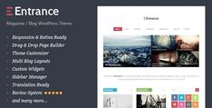 Entrance v1.5  WordPress Theme for Magazine and Review  Blogger Template