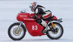 Royal Enfield Motorcycles: Royal Enfield Continental GT proves itself at Bonneville