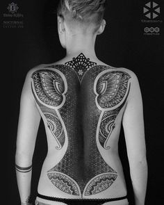 Cool full back tattoo  - 100 Awesome Back Tattoo Ideas  <3 <3