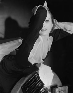 Joan Crawford, Grand Hotel, 1932 (costume by Adrian) (photo by George Hurrell)