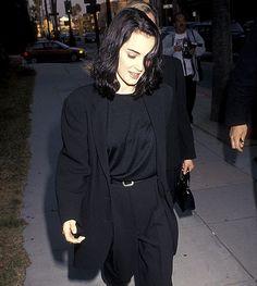 winona ryder (dep)dress(i)on пиджак,вайнона райдер ja с Grunge Look, 90s Grunge, Grunge Style, Grunge Outfits, Soft Grunge, Winona Ryder 90s, Winona Ryder Style, Style Année 90, Love Her Style