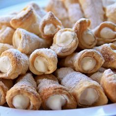 You don't have to wait for a party to make these puff pastry cream horns. They are easy and super impressive.