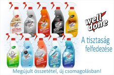 Nyerd meg a három forint értékű Well Done tisztítószer csomag egyikét! Cleaning Supplies, Soap, Bottle, Cleaning Agent, Flask, Bar Soap, Soaps, Jars