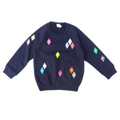 Sweater Diamond navy / pom berlin
